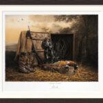 todays-catch-limited-edition-gundog-print-kerto-art-framed-cadre