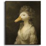 duck-character-animal-framed-print-kerto