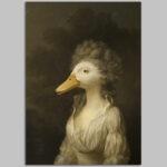 duck-character-animal-unframed-A4-print