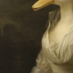 duck-character-animal-unframed-A4-print-detail1