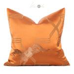 orange-gold-horse-jaquard-cushion-1